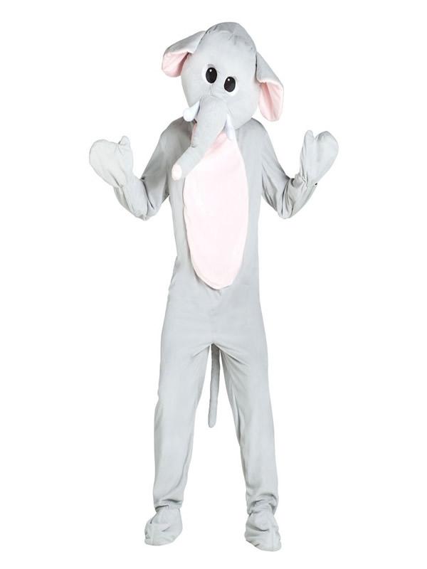 disfraz mascota elefante para hombre