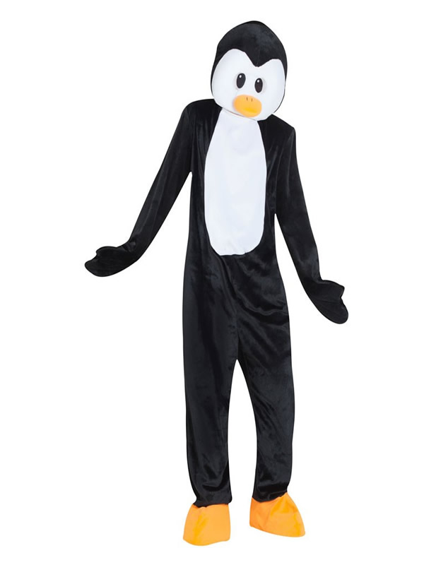 disfraz mascota pinguino para hombre