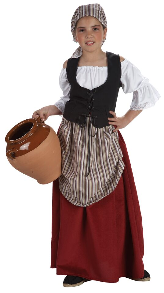 Disfraz mesonera medieval para ni a comprar barato - Trajes de carnaval de epoca ...