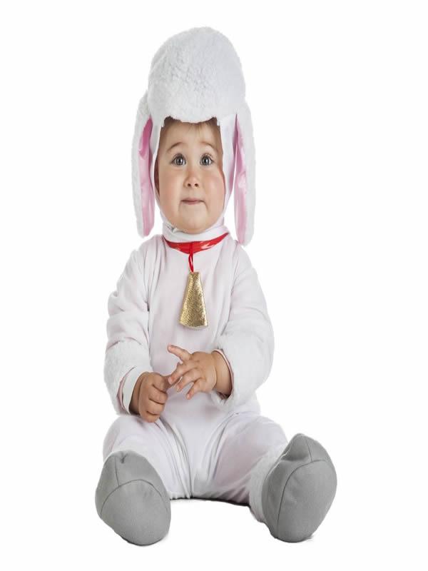 disfraz de oveja blanca bebe