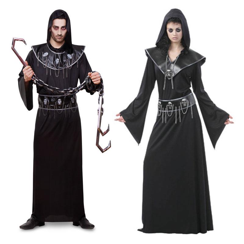 Disfraz pareja de ejecutores hombre y mujer comprar for Disfraces parejas adultos