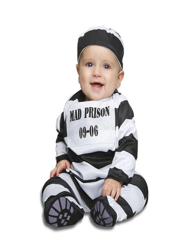 disfraz preso para bebe