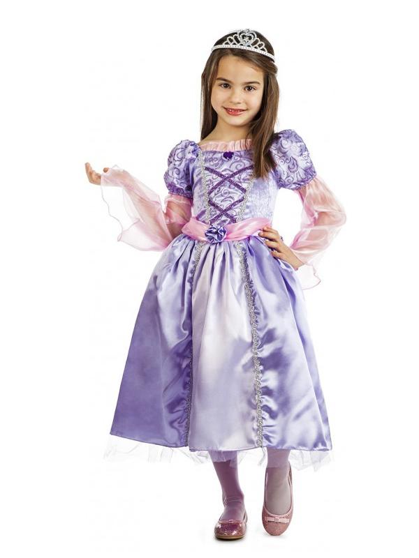 disfraz de princesa lila sofia niña