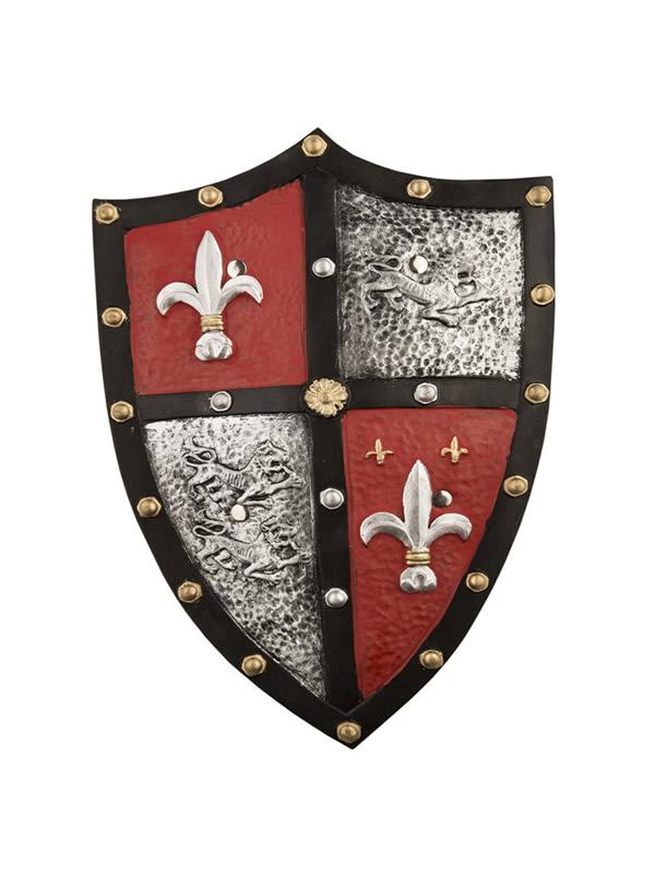 escudo foam medieval de 51 cm