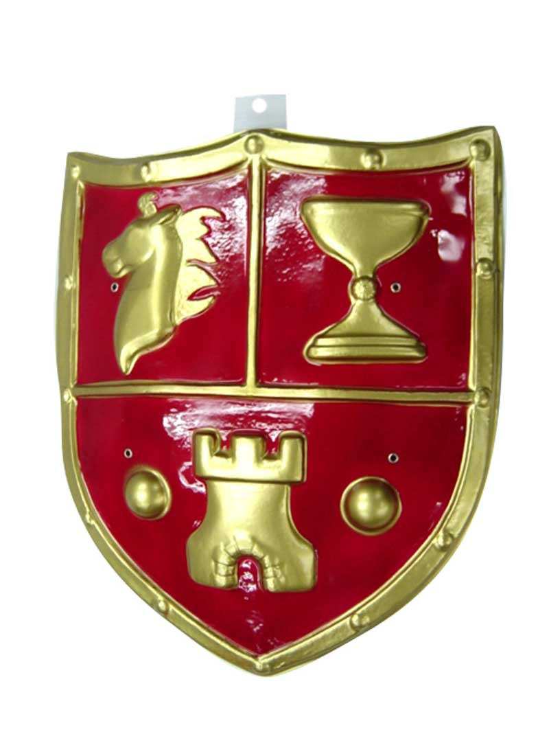 escudo medieval pvc 50 x 23 cm