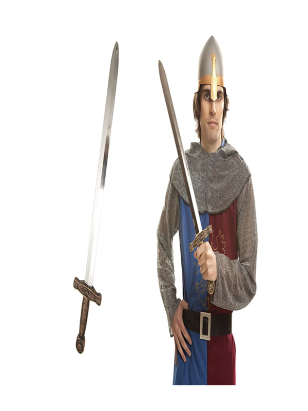 espada de caballero medieval 55 cm