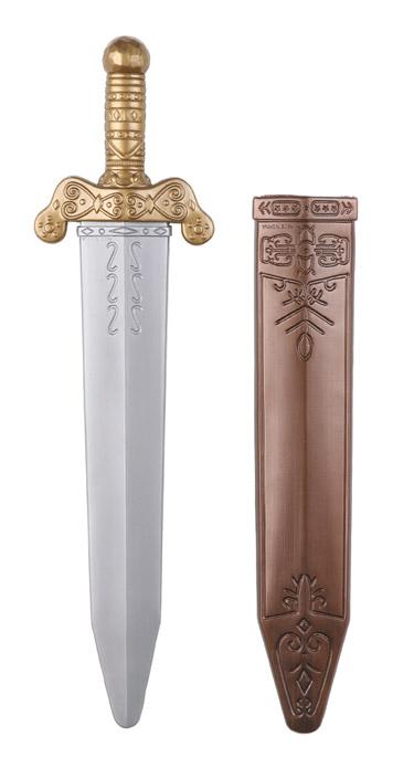espada romana lujo con funda 50 cm