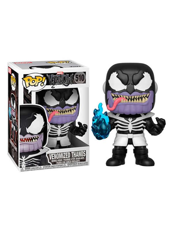 figura funko pop marvel venom venomized thanos