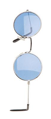 gafas beatles hippie azules metalicas acrilicas