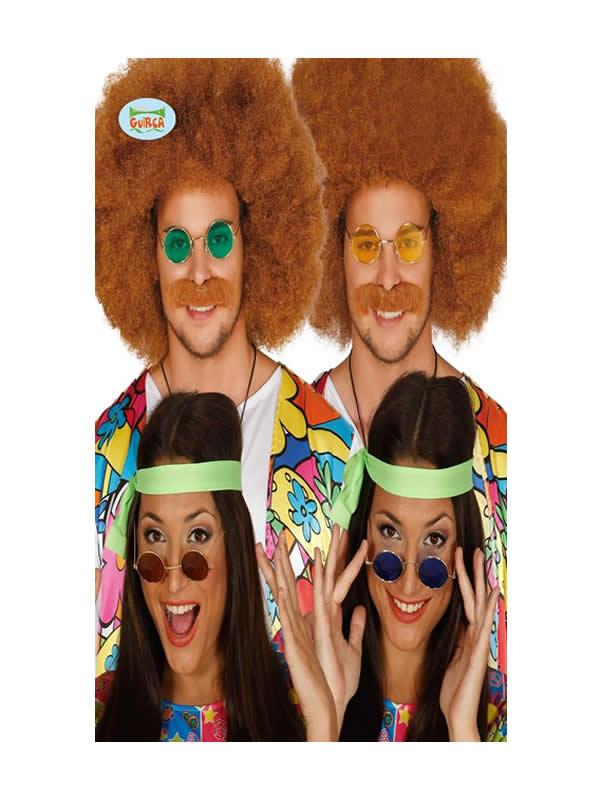 gafas de hippie colores surtidos