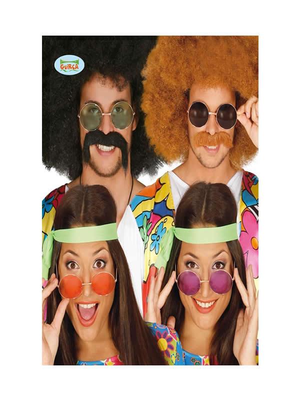 gafas de hippie grandes varios colores