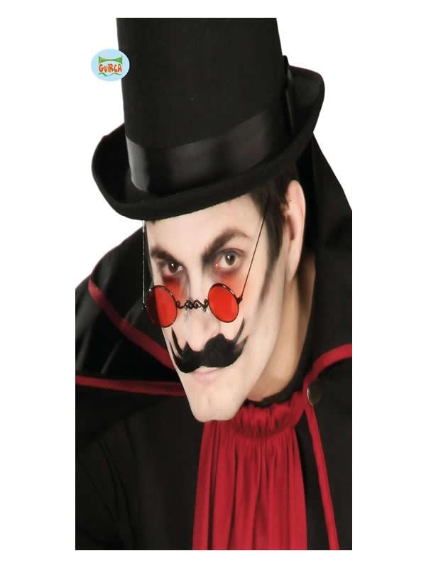 gafas redondas vampiro