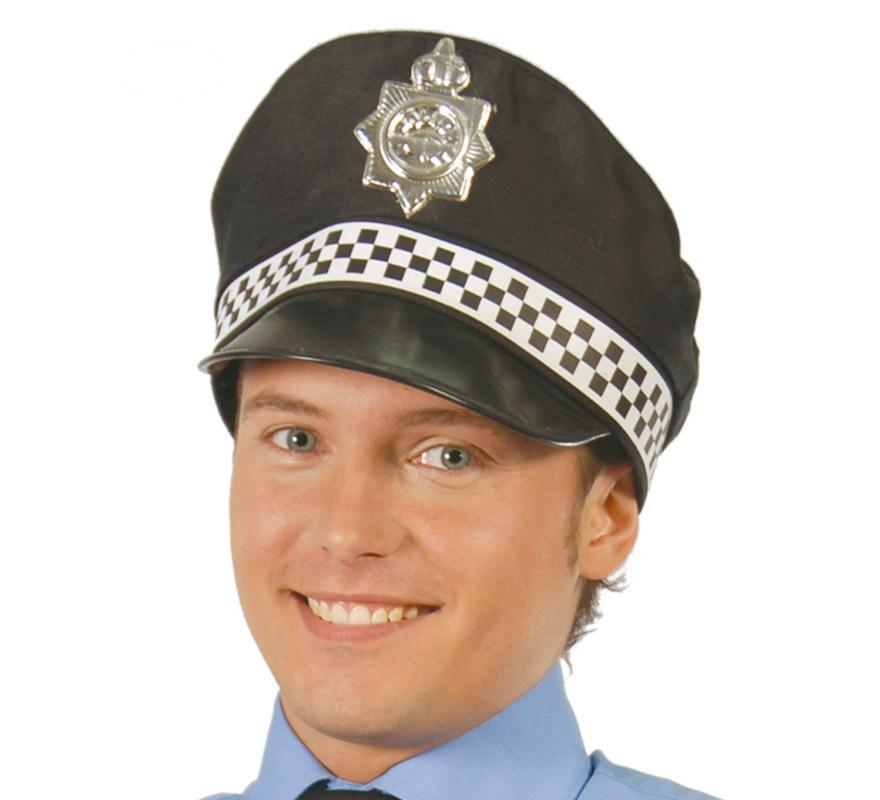 gorra de policia urbana adulto