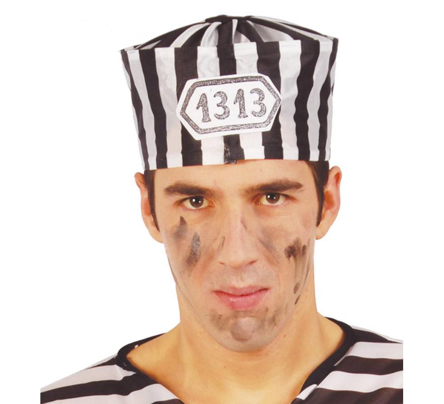 gorra de preso adulto