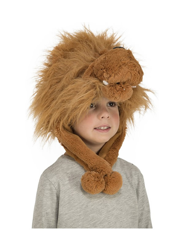gorrito de leon infantil