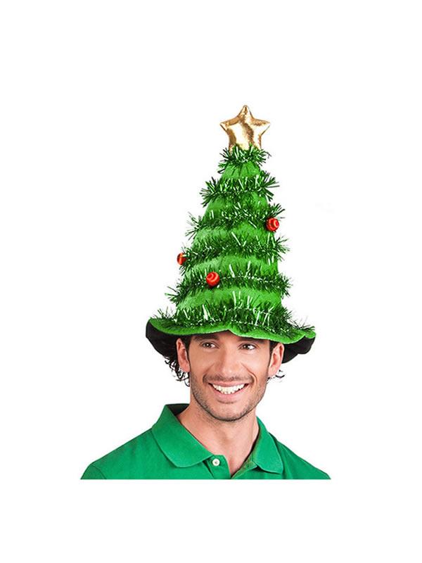 gorro de arbol navidad