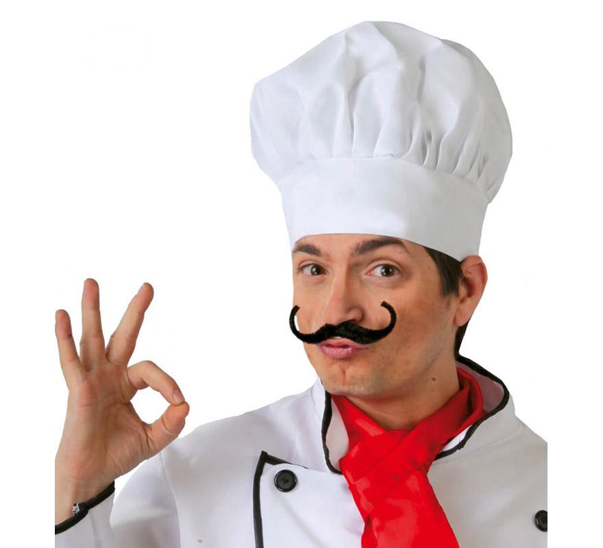 gorro de cocinero tela barato adulto