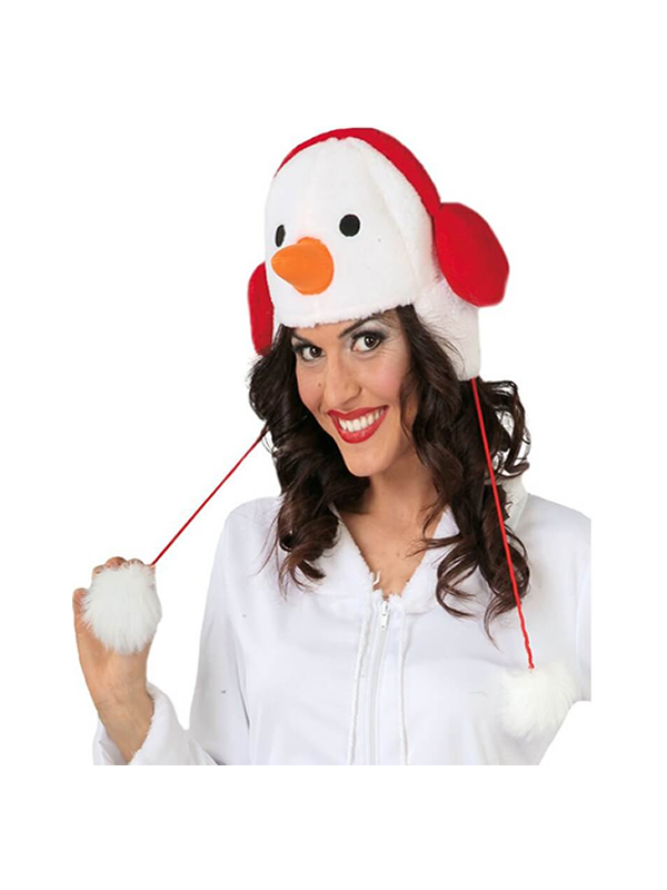 gorro de muñeco de nieve