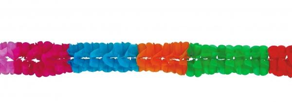 guirnalda de papel colores 16 x 400 cm 4 metros