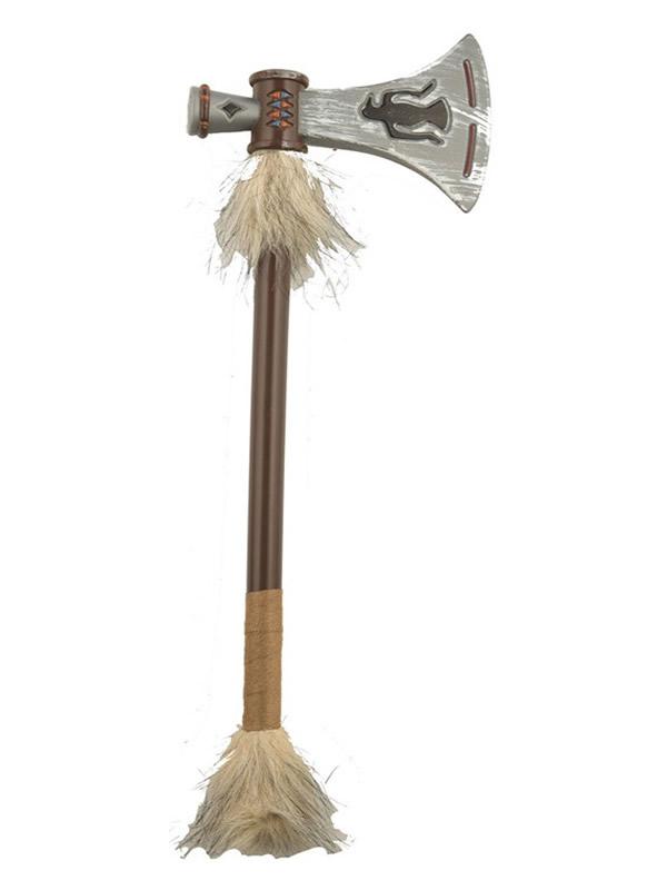hacha de indio con pelo de 43 cm