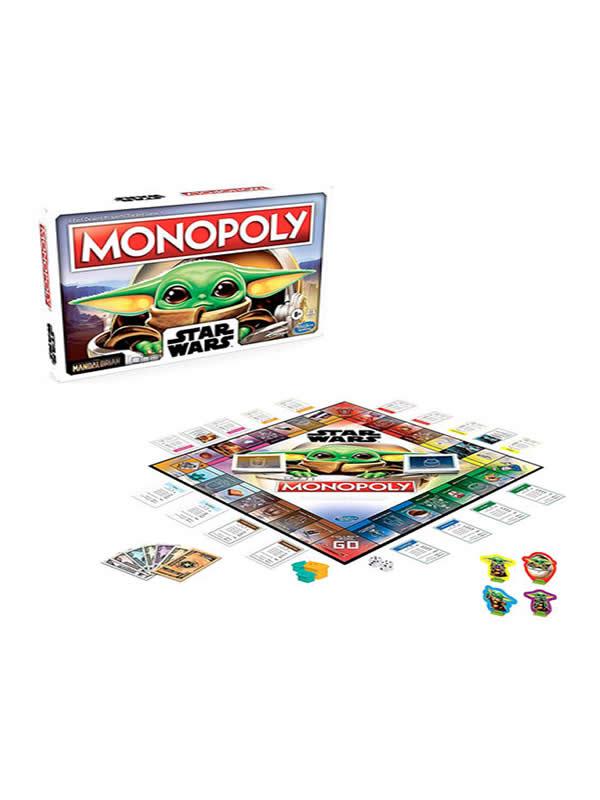 juego de monopoly mandalorian the child star wars español