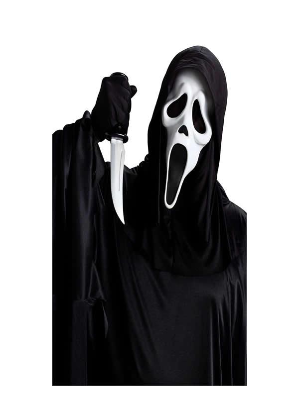 kit mascara y cuchillo de scream adulto