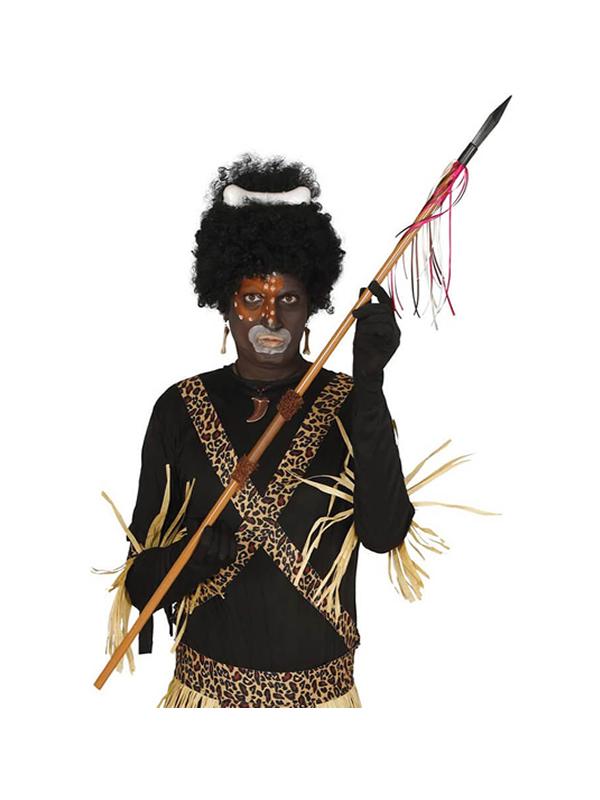 lanza de indigena de 120 cm