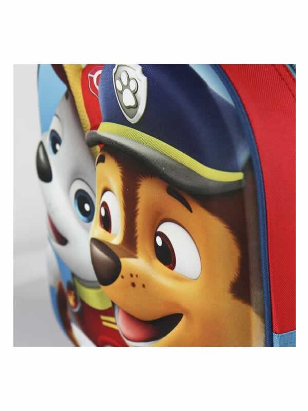 mochila patrulla canina 3D infantil 4