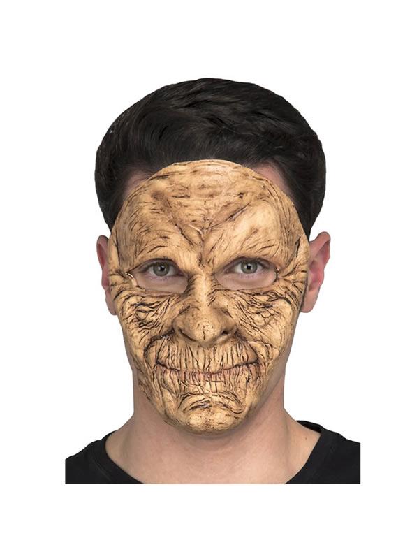 mascara de anciana zombie