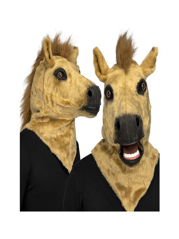 mascara de caballo con movimiento de mandibula