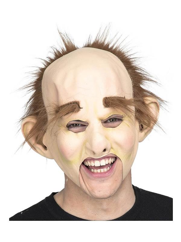 mascara de calvo con cejas extralargas