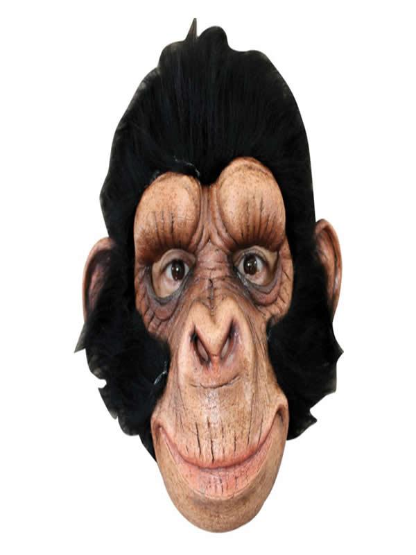 mascara de chimpance george latex