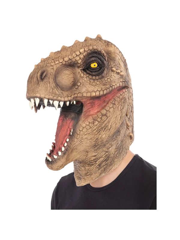 mascara de dinosaurio completa