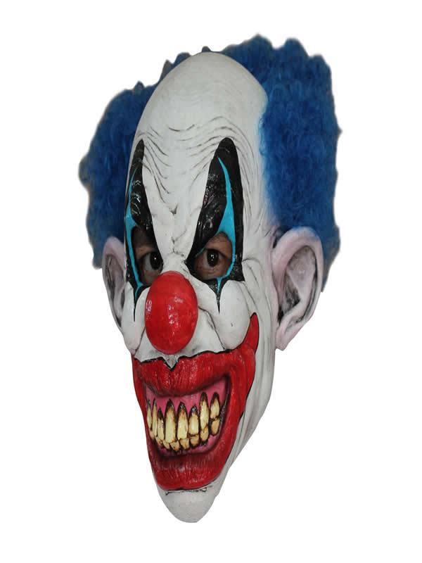 mascara de payaso con pelo halloween