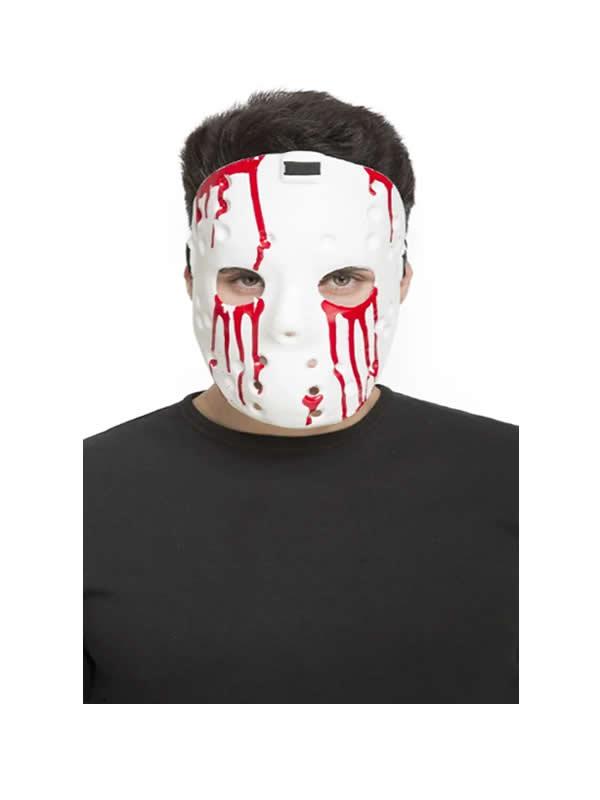 mascara de psycho blanca pvc
