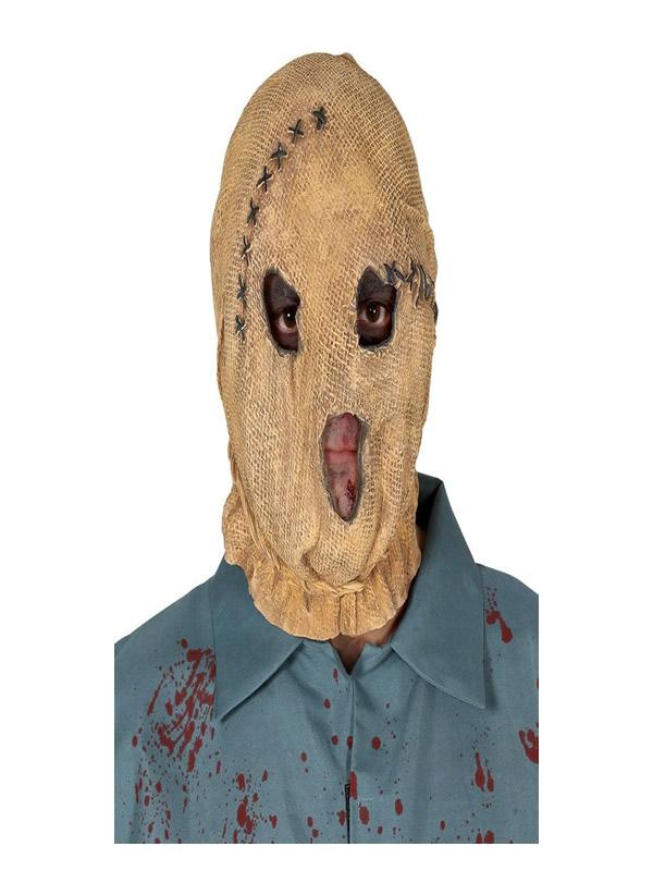 mascara de espantapajaros latex adulto
