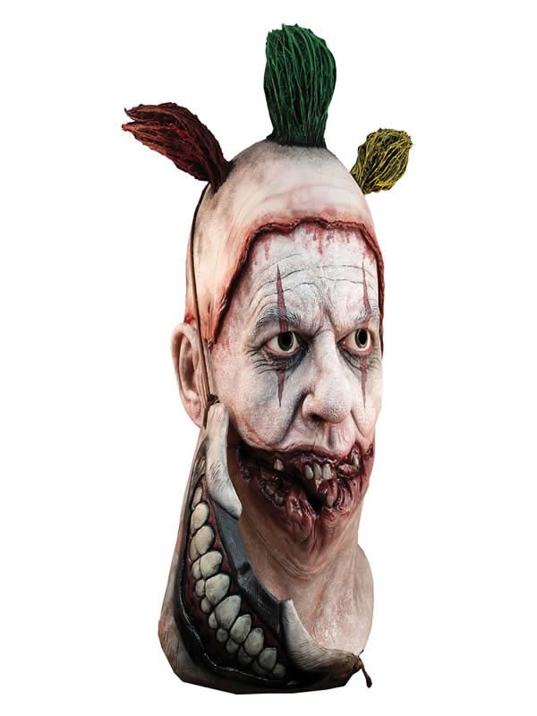 mascara the clown american horror story con boca de latex