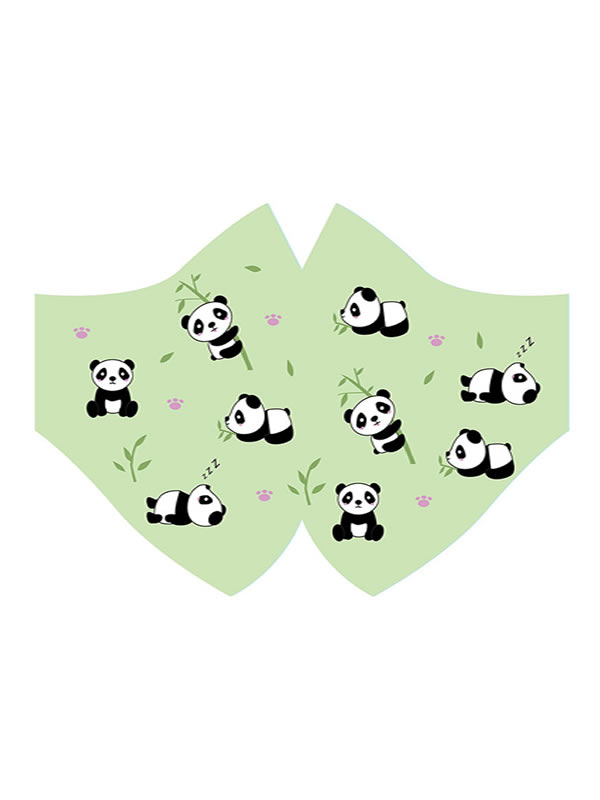 mascarilla de osos panda hidrofuga