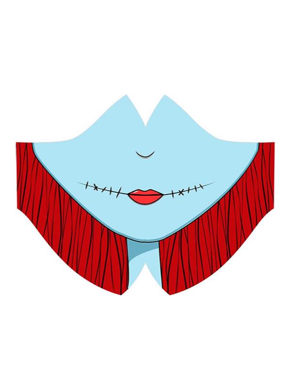 mascarilla muñeca de trapo sally hidrofruga