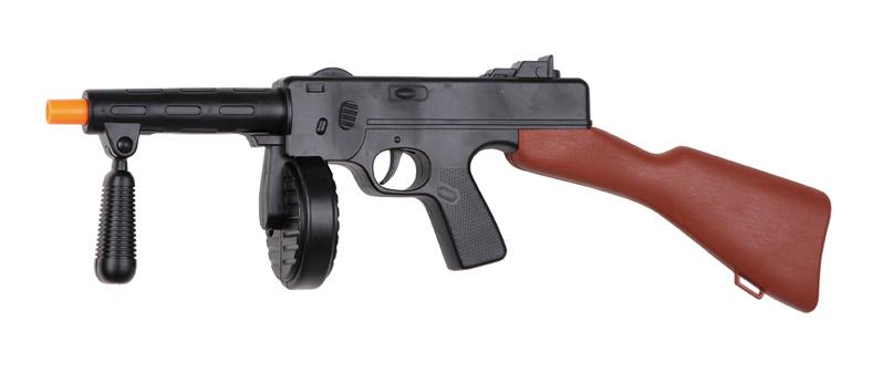 metralleta de gansgter o mafioso sonido 53 cm