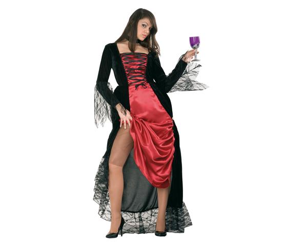 disfraz de dama tenebrosa para mujer