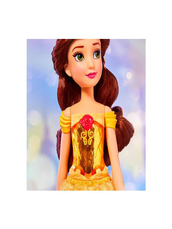 muñeca brillo real la bella y la bestia disney