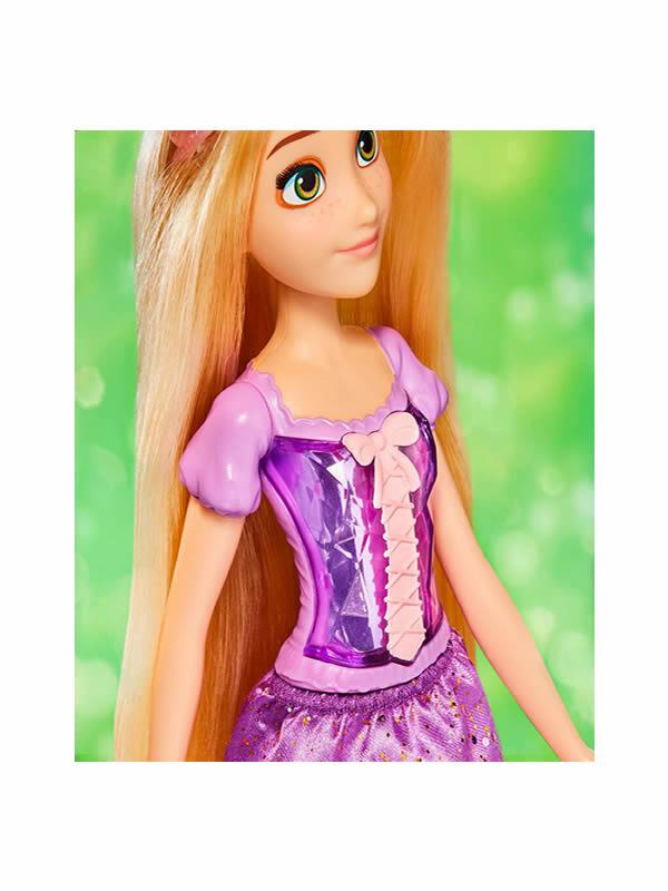 muñeca brillo real rapunzel disney
