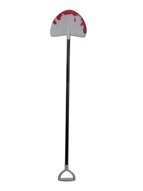 pala de enterrador ensangrentada 120 cm
