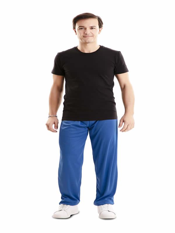 pantalon azul barato adulto