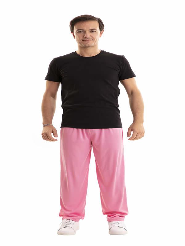 pantalon rosa barato adulto