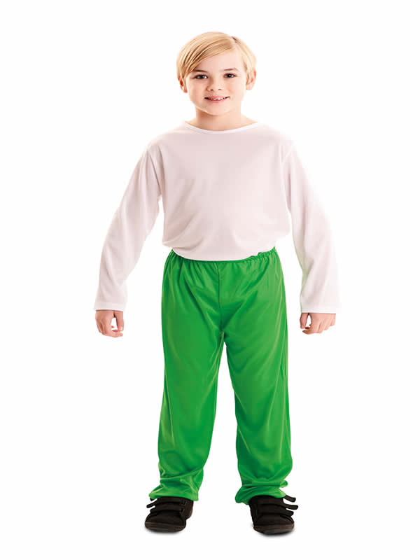 pantalon verde barato infantil
