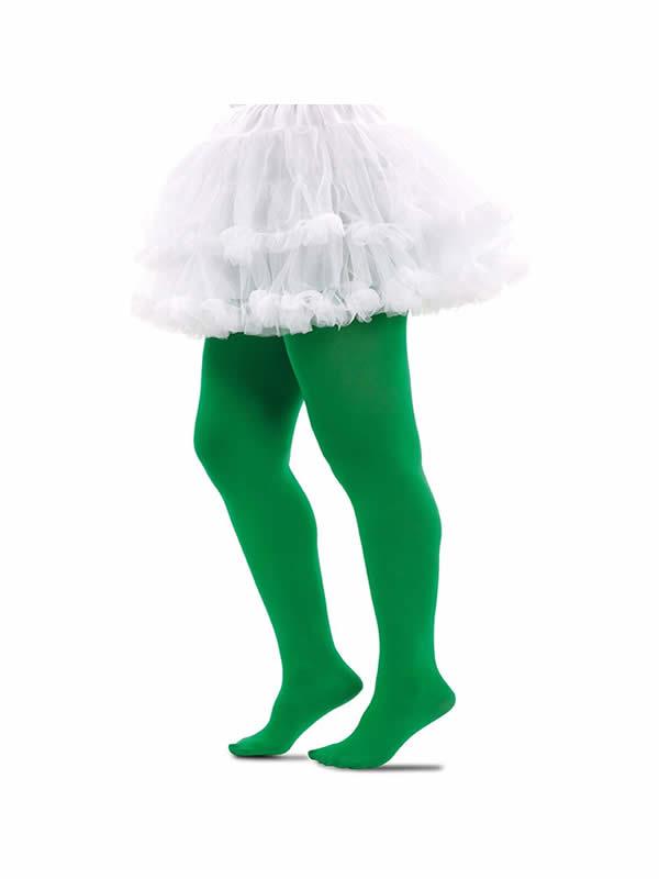 pantys verdes baratos adulto