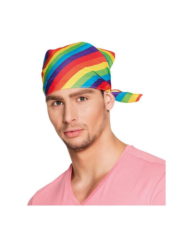 pañuelo arcoiris para adulto