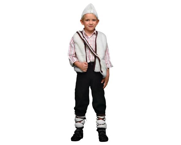 disfraz de pastor para niño